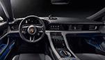 Yeni Porsche Taycan'ın iç tasarımı:  Dijital, sade, sürdürülebilir.