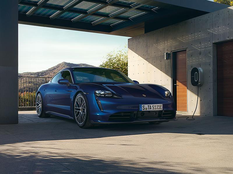 Porsche - Evde şarj.